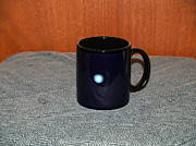 Mug Ceramics Acrylic Prints - Uranus Custom photo reproduction Coffee mug- Side A Acrylic Print by Ryan Demaree