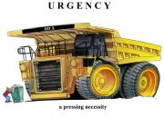 Cartoon Originals - Urgency by Lyle Brown