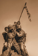 Marine Corp Prints - Usmc Print by JC Findley