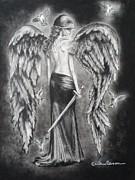 Valkyrie Angel Print by Carla Carson