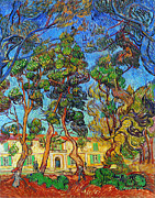Garden Art - Van Gogh: Hospital, 1889 by Granger