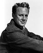Johnson Photos - Van Johnson Portrait by Everett