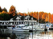 Vancouver Rowing Club Print by Will Borden