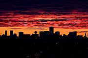 Vancouver Sunset  Print by Naman Imagery