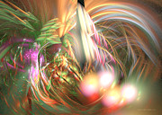 Modern Digital Art - Vanilla moment - Fractal art by Sipo Liimatainen