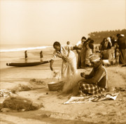Fishermen Photos - Varkala beach by Paul Cowan