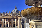 Basilica Photos - Vatican - St. Peters Square by Joana Kruse