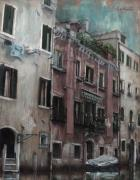 Venezia Paintings - Venezia 28 by Nicolas Martin