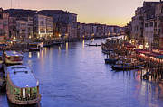 Evening Prints - Venice Canal Grande Print by Joana Kruse