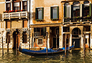 Gondola Tapestries Textiles - Venice Morning by Mick Burkey