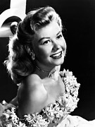 Bare Shoulder Framed Prints - Vera-ellen, Ca. 1940s Framed Print by Everett