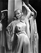 Belted Prints - Veronica Lake, Paramount Pictures Print by Everett