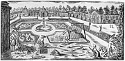 Pruning Framed Prints - Versailles: Gardens, 1690 Framed Print by Granger