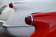 Vette Tails Print by Dennis Hedberg