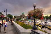 Seeing Art - Victoria Inner Harbour by Matt Dobson