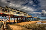 North Wales Digital Art - Victoria Pier by Adrian Evans