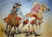 Rodeo Art Drawings - Victory Dance by Jimmy Smith