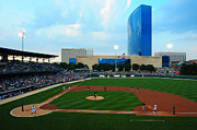 Baseball Parks Framed Prints - Victory Field Framed Print by Rob Banayote