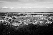 Sky Line Art - View Of Edinburgh City Skyline From Craiglockhart Edinburgh Scotland by Joe Fox