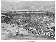 American City Prints - View Of Seattle, 1889 Print by Granger