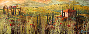 Italian Kitchen Originals - View of Tuscany by Christopher Clark