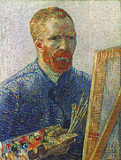 Self-portrait Photo Prints - Vincent Van Gogh (1853-1890) Print by Granger