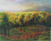 Wine Country. Originals - Vineyard Glow by Becky Chappell