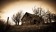 High Definition Art - Vintage Farm House by Steve McKinzie
