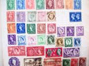 Dawn Hay - Vintage Stamps G.b.