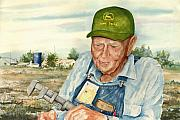 John Deere Paintings - Virgil by Sam Sidders