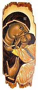 Christian Artwork Painting Originals - Virgin Merry and the Infant Jesus  by Ivan Natov