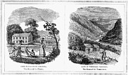 Mountain Man Prints - Virginia, East And West Print by Granger