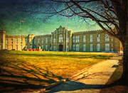 Kathy Jennings Prints Framed Prints - Virginia Military Institute  Framed Print by Kathy Jennings