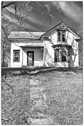 Guywhiteleyphoto.com Prints - Visiting the Old Homestead Print by Guy Whiteley