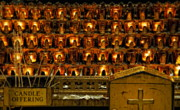 Manhatten Photo Prints - Votive Candles Print by John Greim