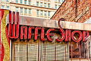Waffle Shop Print by Christopher Holmes