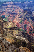 Kelley King Prints - Waimea Canyon Print by Kelley King