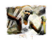 African-american Digital Art Prints - Waiting For The Paint To Dry... Print by Bob Salo