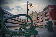 Walt Disney Boardwalk Framed Prints - Walt Disney World - Boardwalk Villas  Framed Print by AK Photography