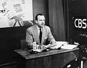 Journalist Photos - Walter Cronkite (1916-2009) by Granger