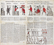 Hieroglyphic Prints - War Of 1812: Broadside Print by Granger