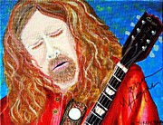 Warren Haynes Posters - Warren Haynes Poster by Angela Murray