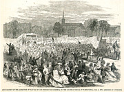 Abolition Movement Metal Prints - Washington: Abolition, 1866 Metal Print by Granger