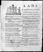 Lady Washington Posters - Washington: Death, 1799 Poster by Granger