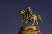 Philadelphia Museum Of Art Posters - Washington Monument Sculpture  Poster by John Greim