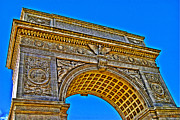 Washington Square Arch Print by Randy Aveille