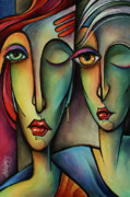 Facial Expressions Framed Prints - Watch Framed Print by Michael Lang