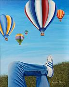 Lyndon Stokes - Watching the Balloons