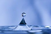 Abstract - Water Droplet Pyramid by Darcy Michaelchuk