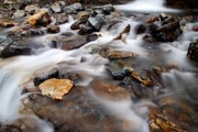Water On The Rocks Print by Larry Ricker